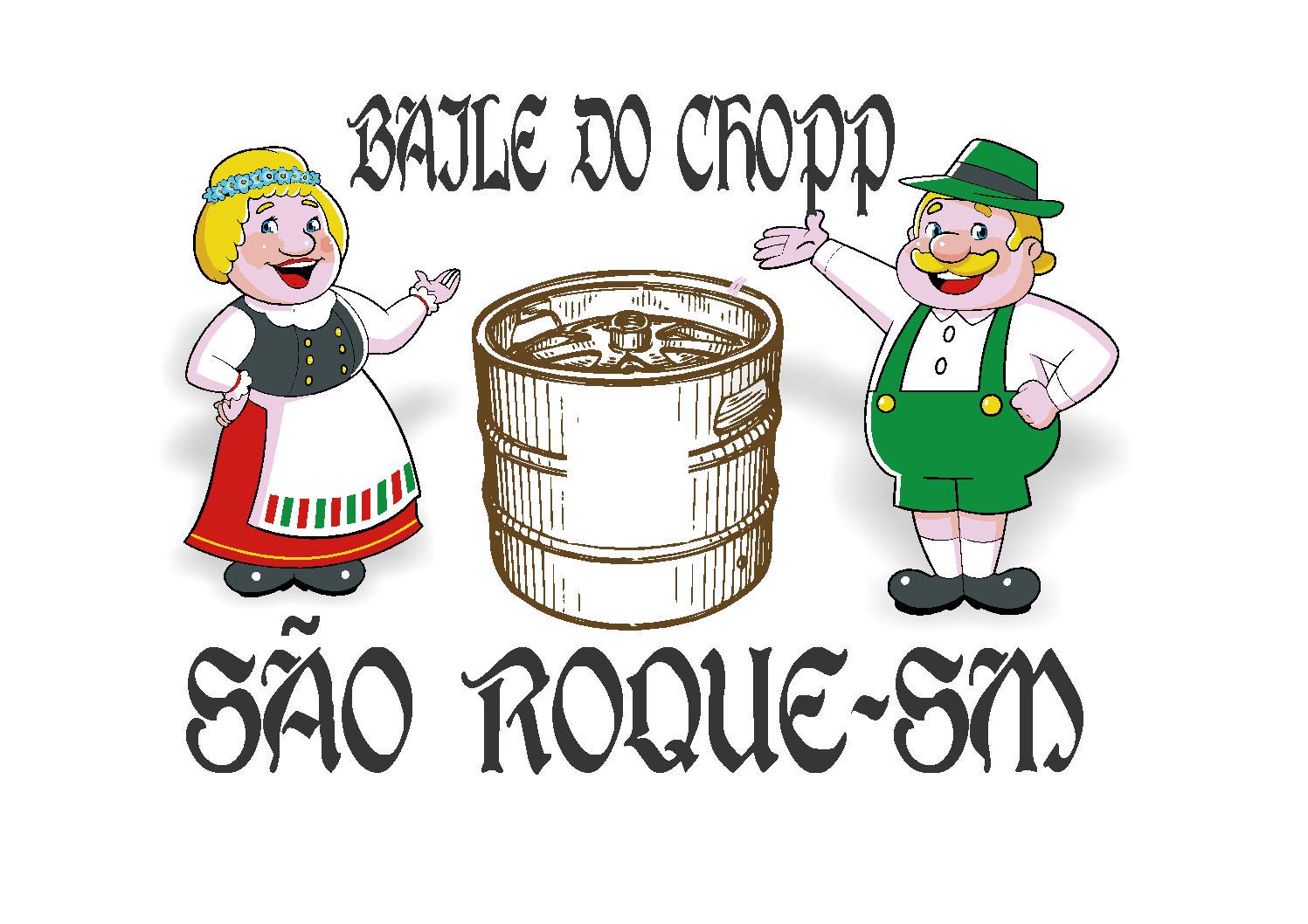 CAMISETA PARA BAILE DE CHOPP DE SÃO ROQUE-SALDANHA MARINHO.