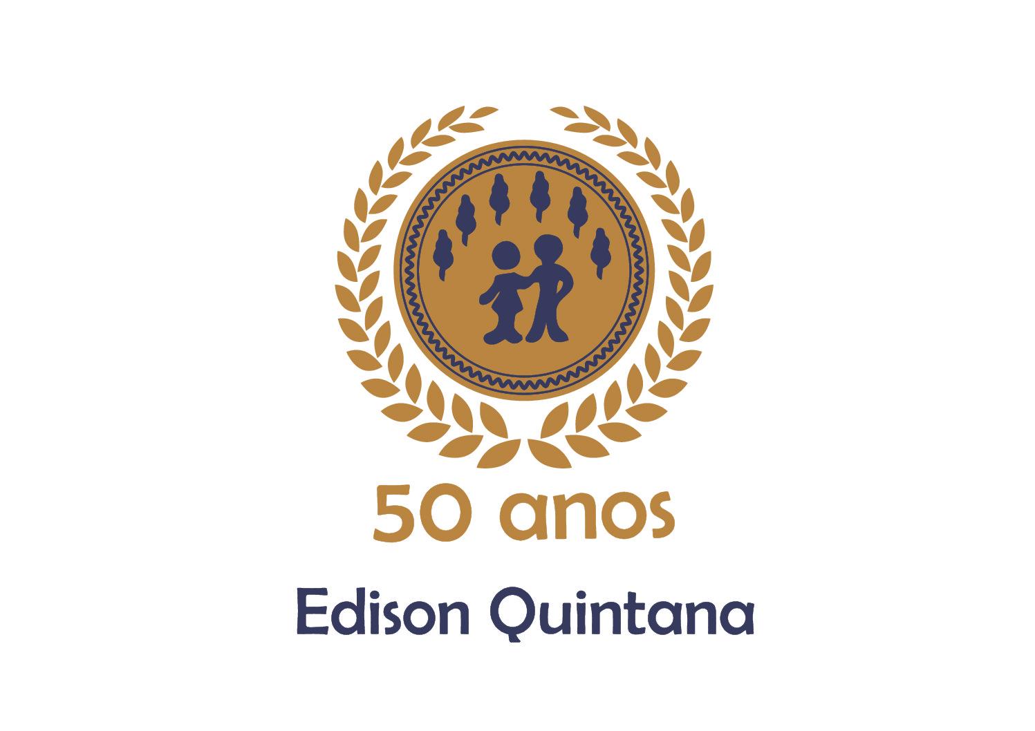 CAMISETA PARA PROFESSORES COMEMORATIVA DOS 50 ANOS DA ESCOLA EDSON QUINTADA!
