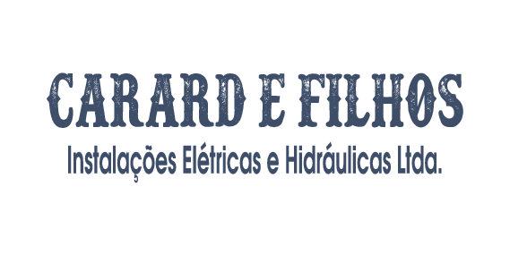CAMISETAS PARA EMPRESA DE INSTALAÇÕES ELÉTRICAS E HIDRÁULICAS CARARD E FILHOS.