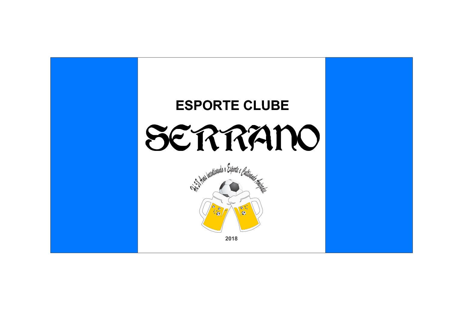 CAMISETAS PERSONALIZADAS PARA BAILE DO CHOPP DO ESPORTE CLUBE SERRANO DA COMUNIDADE DE CRISTO REI DE SANTA BÁRBARA DO SUL/RS.