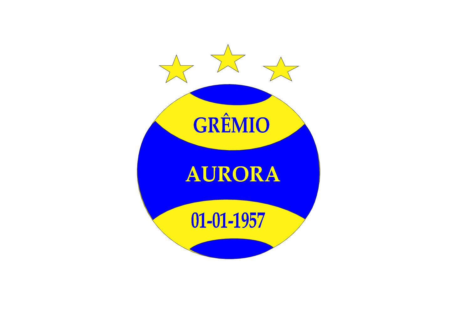 CAMISETAS PERSONALIZADAS PARA EQUIPE DO GRÊMIO ESPORTIVO AURORA, DA CIDADE DE QUINZE DE NOVEMBRO/RS, LOCALIDADE DE SEDE AURORA.
