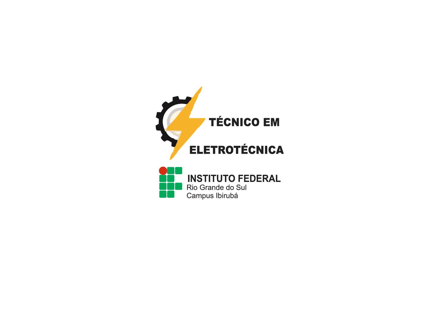 Camisetas polos com logos bordadas ponto a ponto para alunos do curso de Técnico em Eletrotécnica do IFRS, da cidade de Ibirubá/RS.