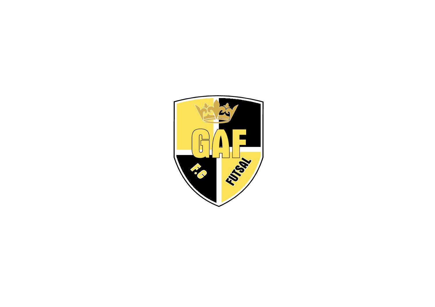 Fardamento personalizado para escolinha da GAF F.C futsal.