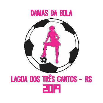 Fardamento personalizado para equipe do Damas da Bola, da cidade de Lagoa dos Três Cantos/RS.