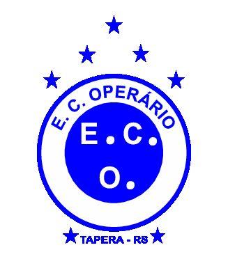 Fardamento personalizado para equipe do Operário, da cidade de Tapera/RS.