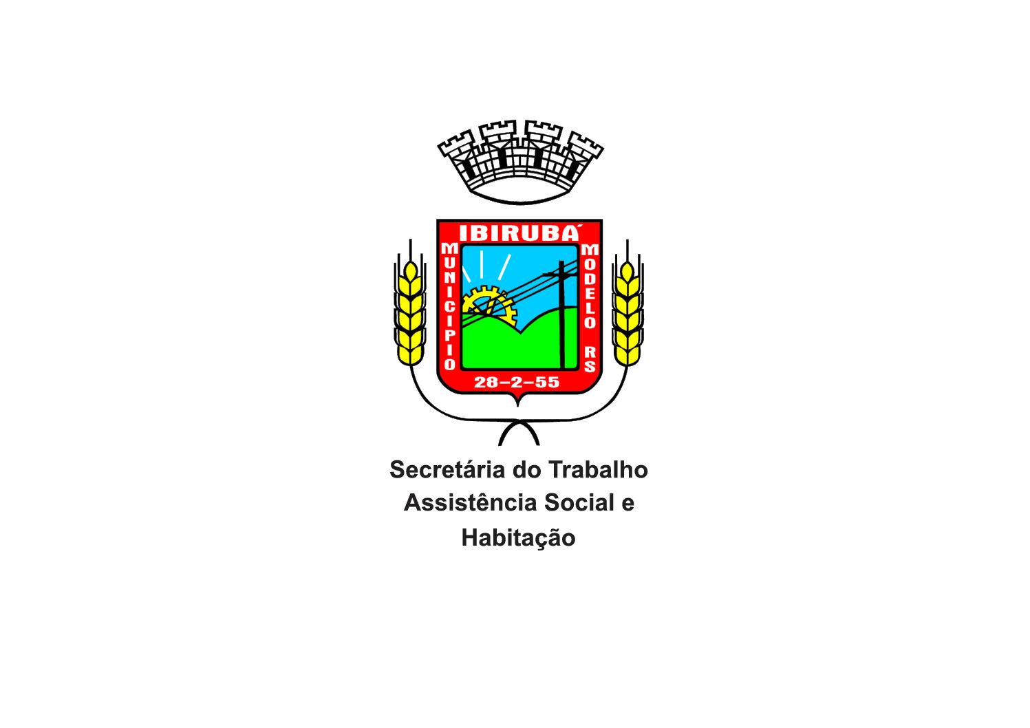 Polos com bordado ponto a ponto para Secretária do Trabalho Assistência Social e Habitação, da Prefeitura de Ibirubá/RS.