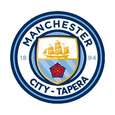 Fardamento personalizado para equipe do Manchester City, da cidade de Tapera/RS.