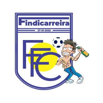 Fardamento personalizado para a equipe FINDICARREIRA F.C.